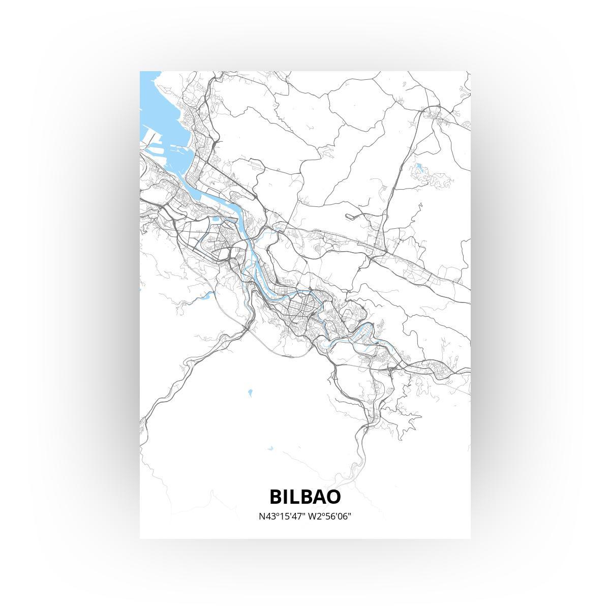 Bilbao poster - Zelf aan te passen!