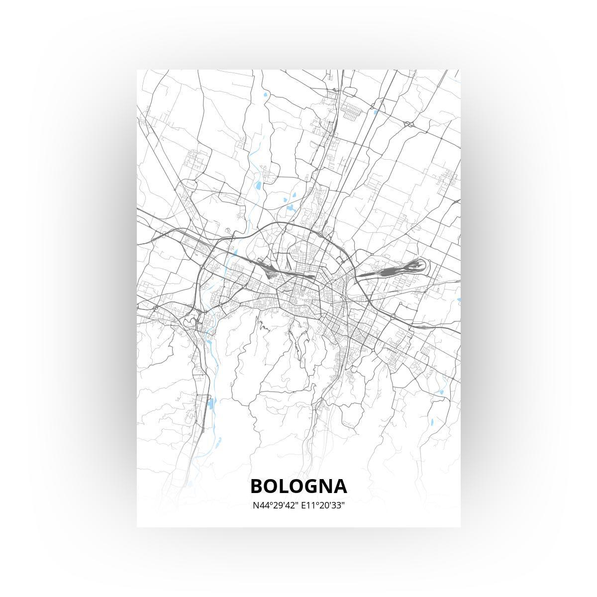 Bologna poster - Zelf aan te passen!