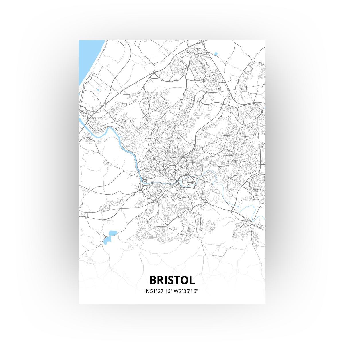 Bristol poster - Zelf aan te passen!