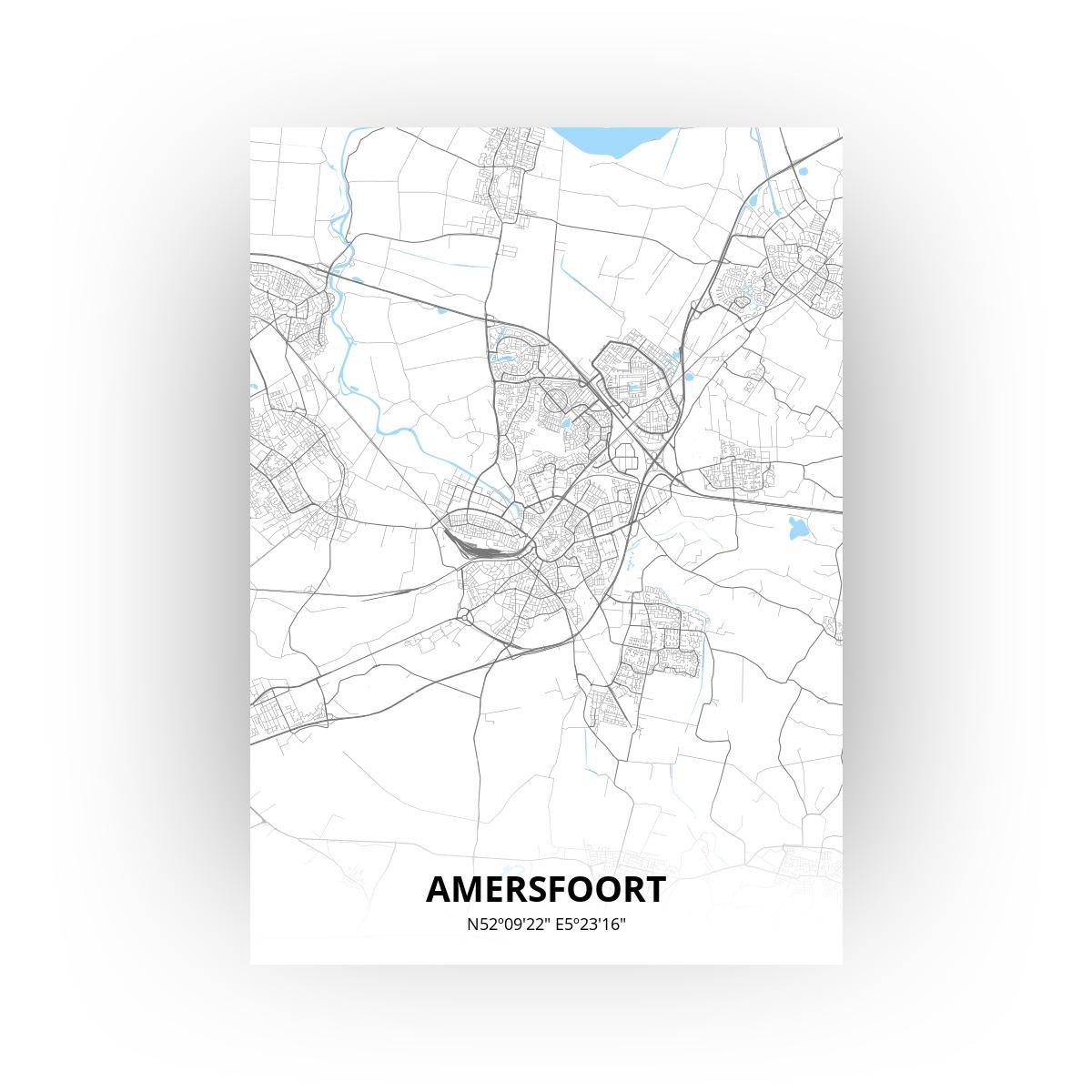 Amersfoort print - Standaard stijl