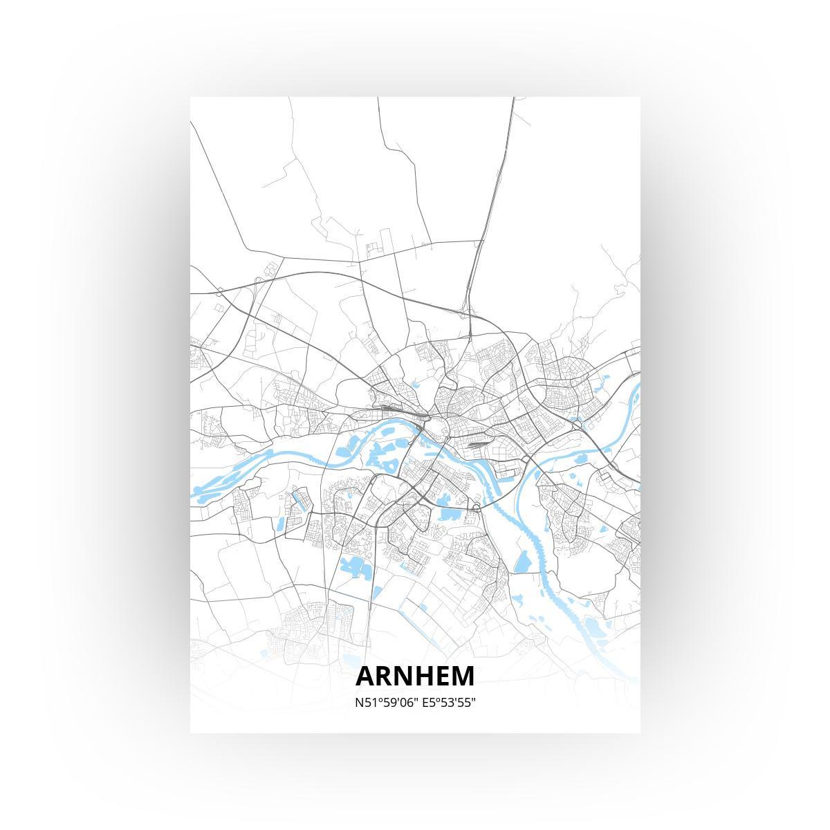 Arnhem print - Standaard stijl