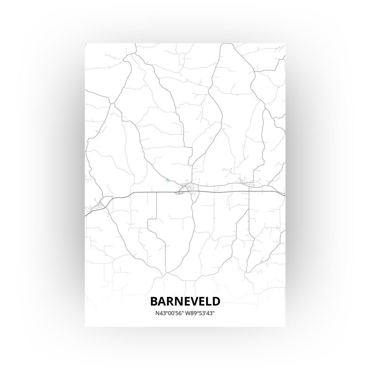 Barneveld print - Standaard stijl