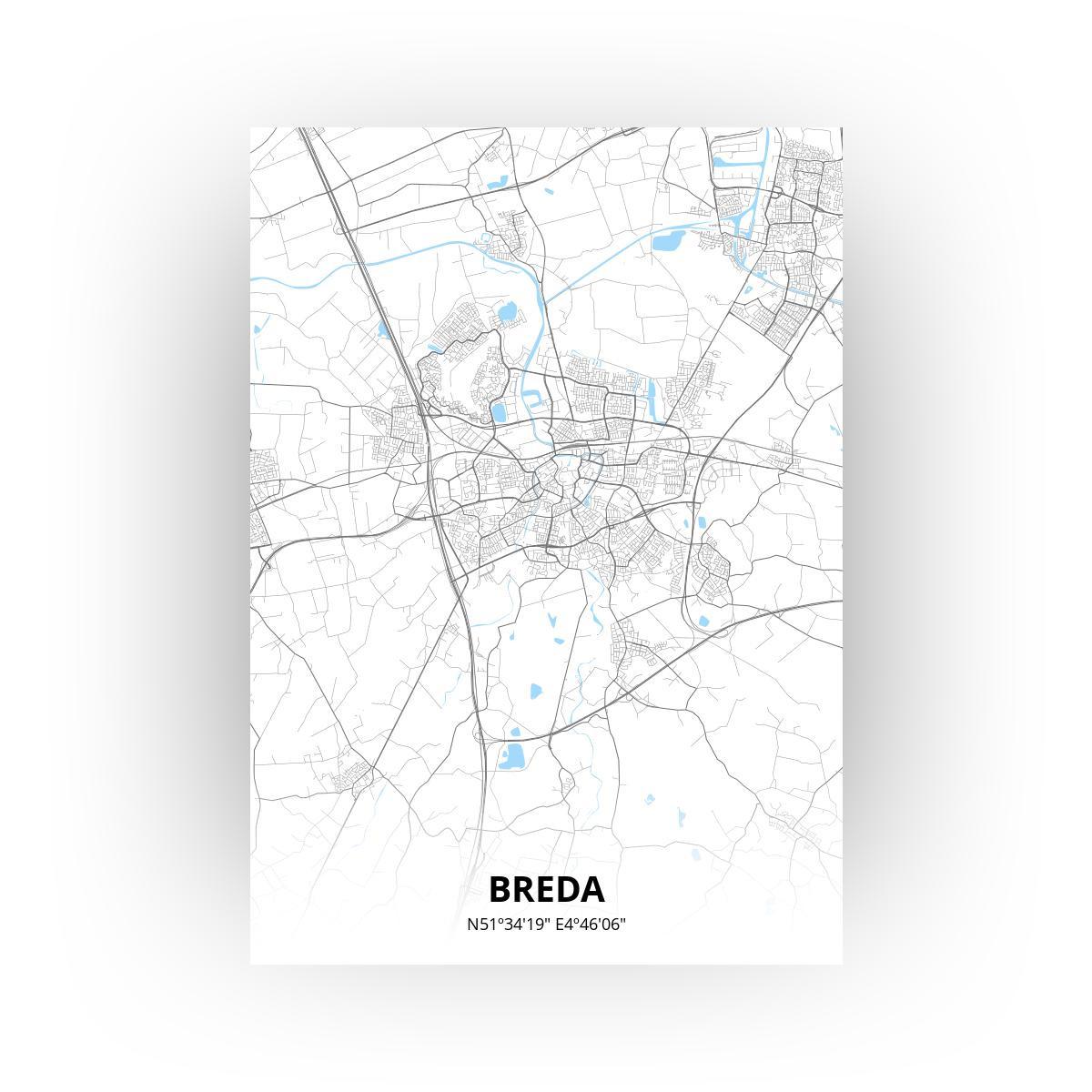 Breda print - Standaard stijl