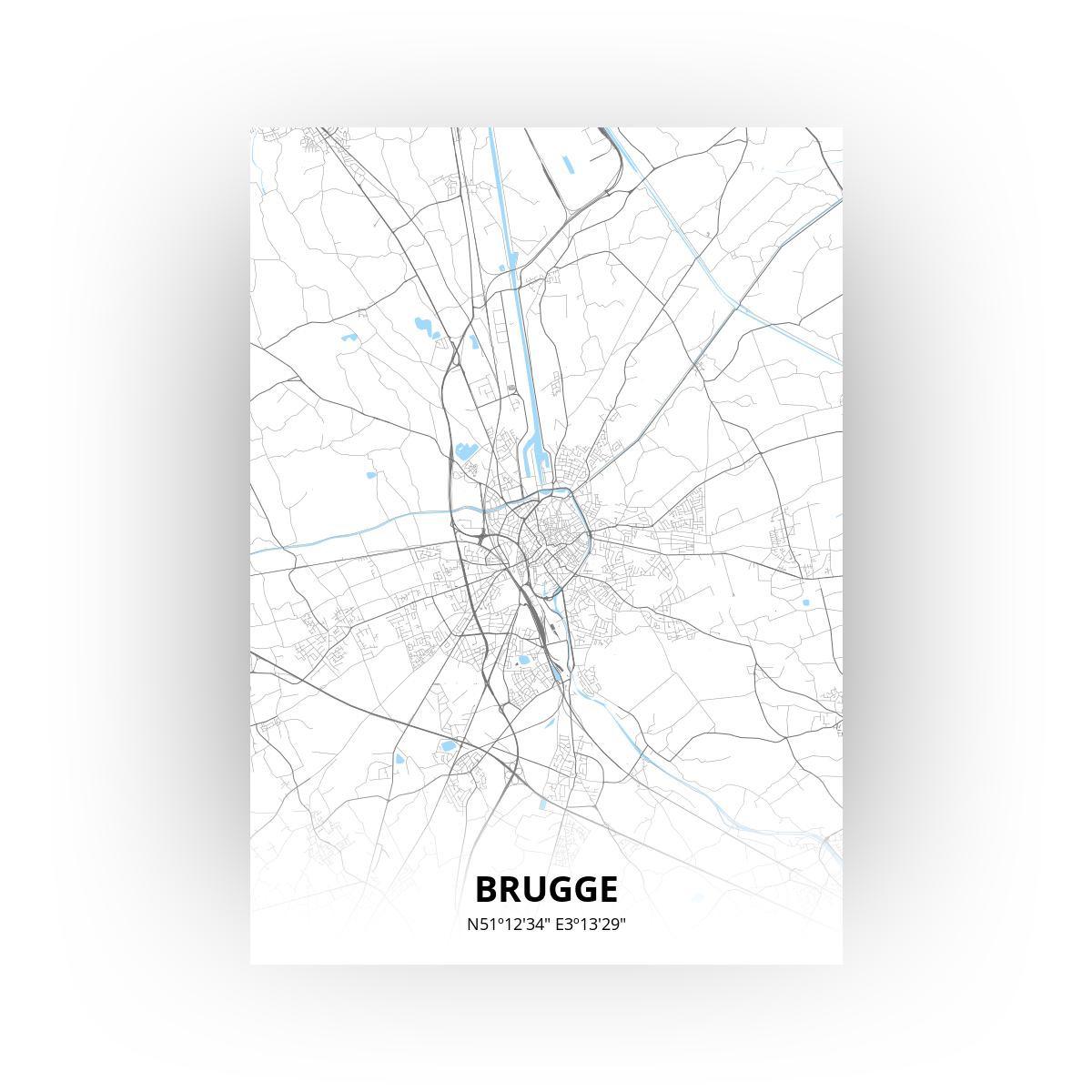Brugge print - Standaard stijl