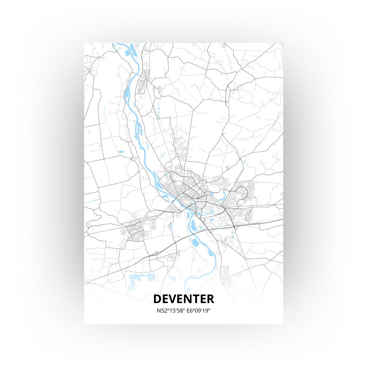 Deventer print - Standaard stijl