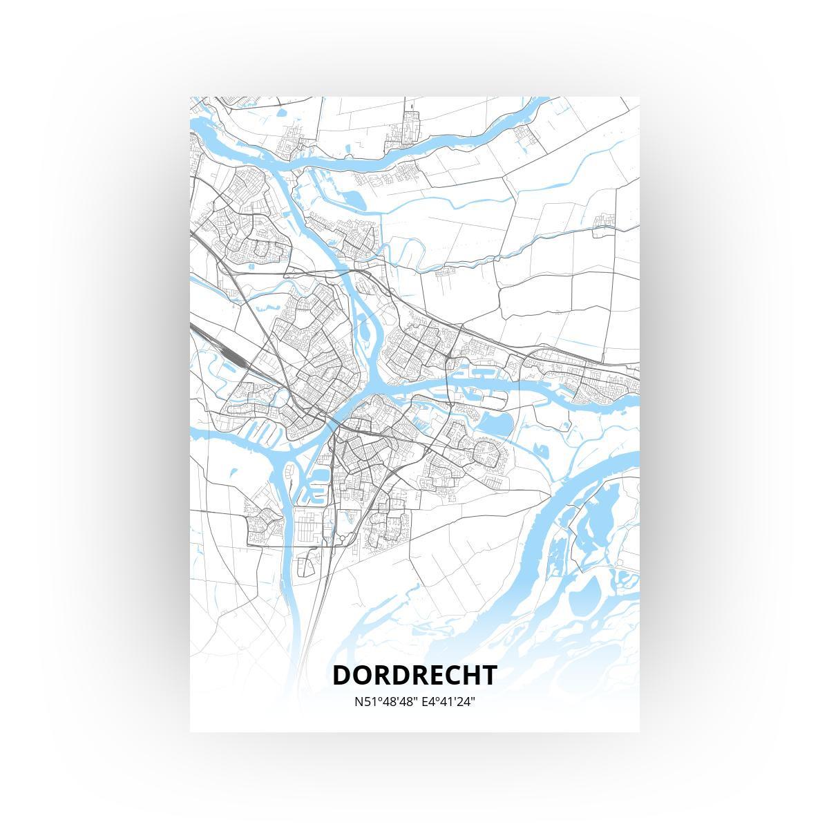 Dordrecht print - Standaard stijl