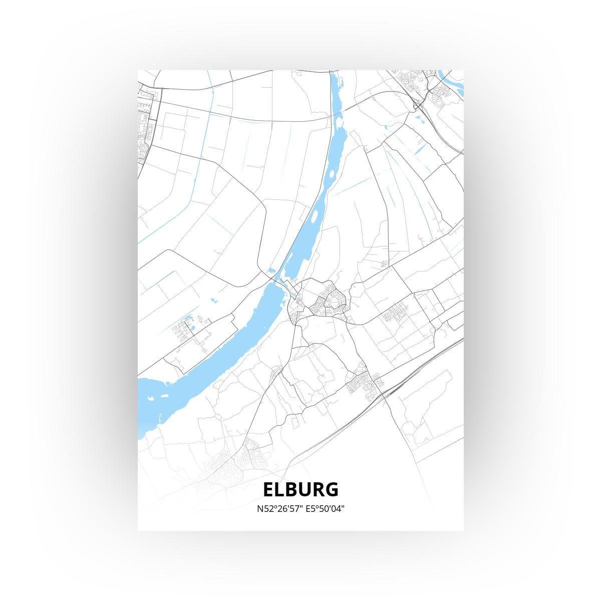 Elburg print - Standaard stijl