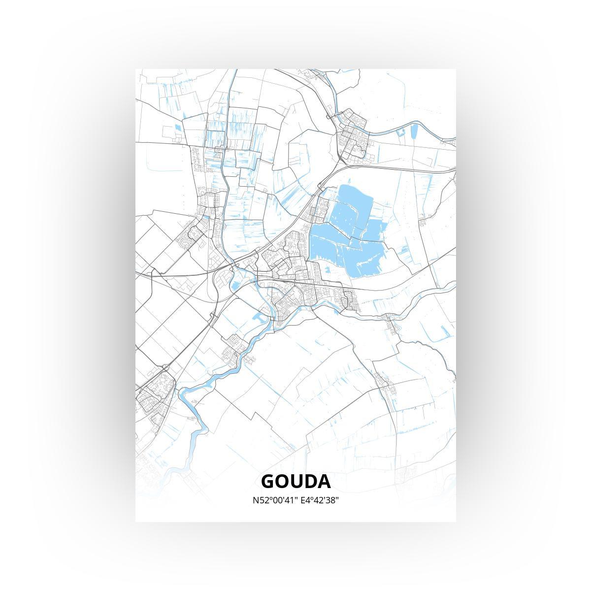 Gouda print - Standaard stijl