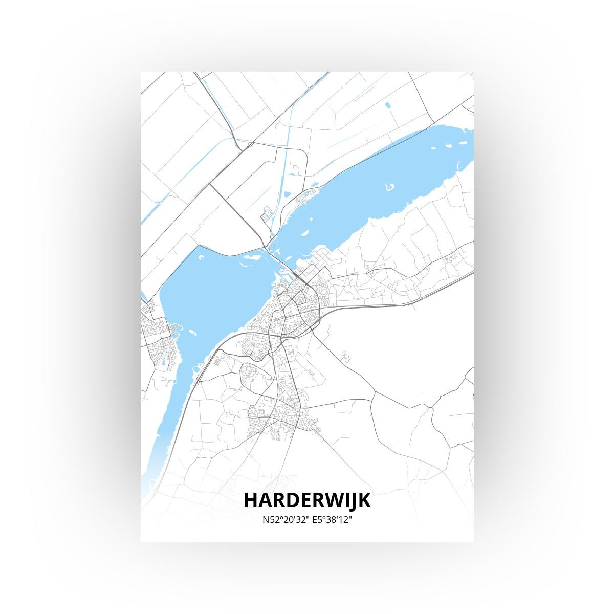 Harderwijk print - Standaard stijl