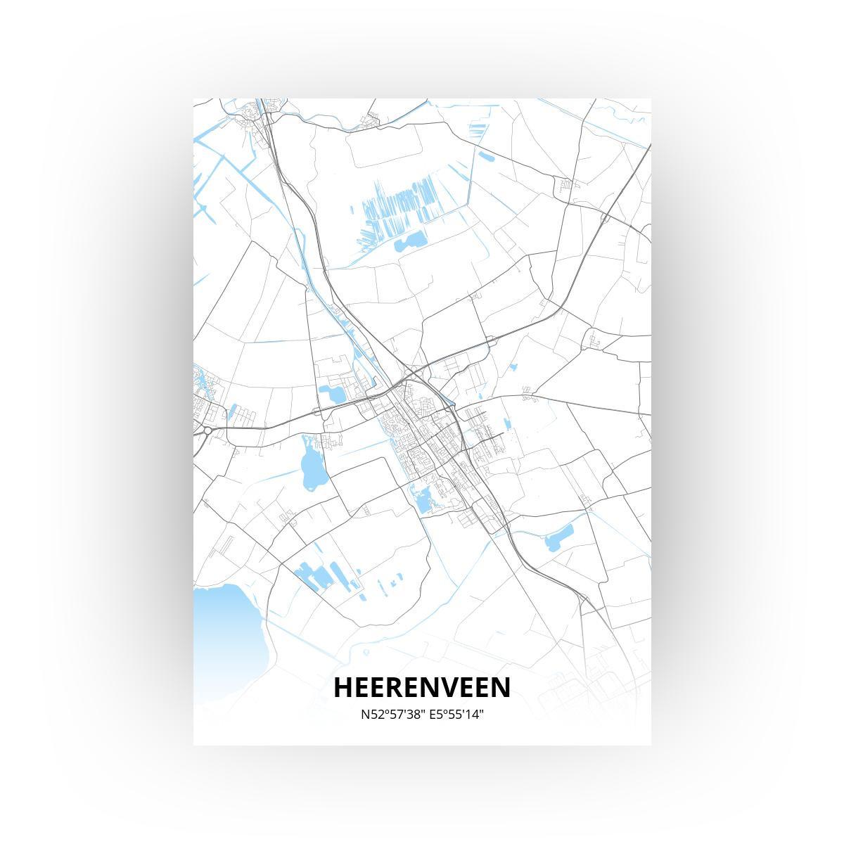Heerenveen print - Standaard stijl