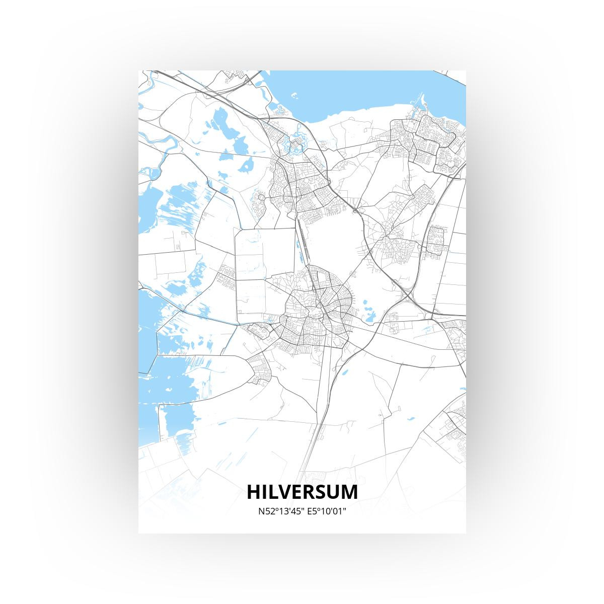 Hilversum print - Standaard stijl