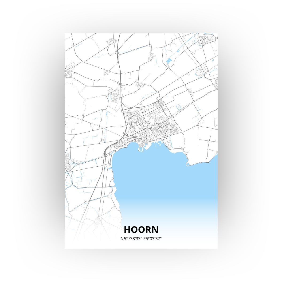Hoorn print - Standaard stijl