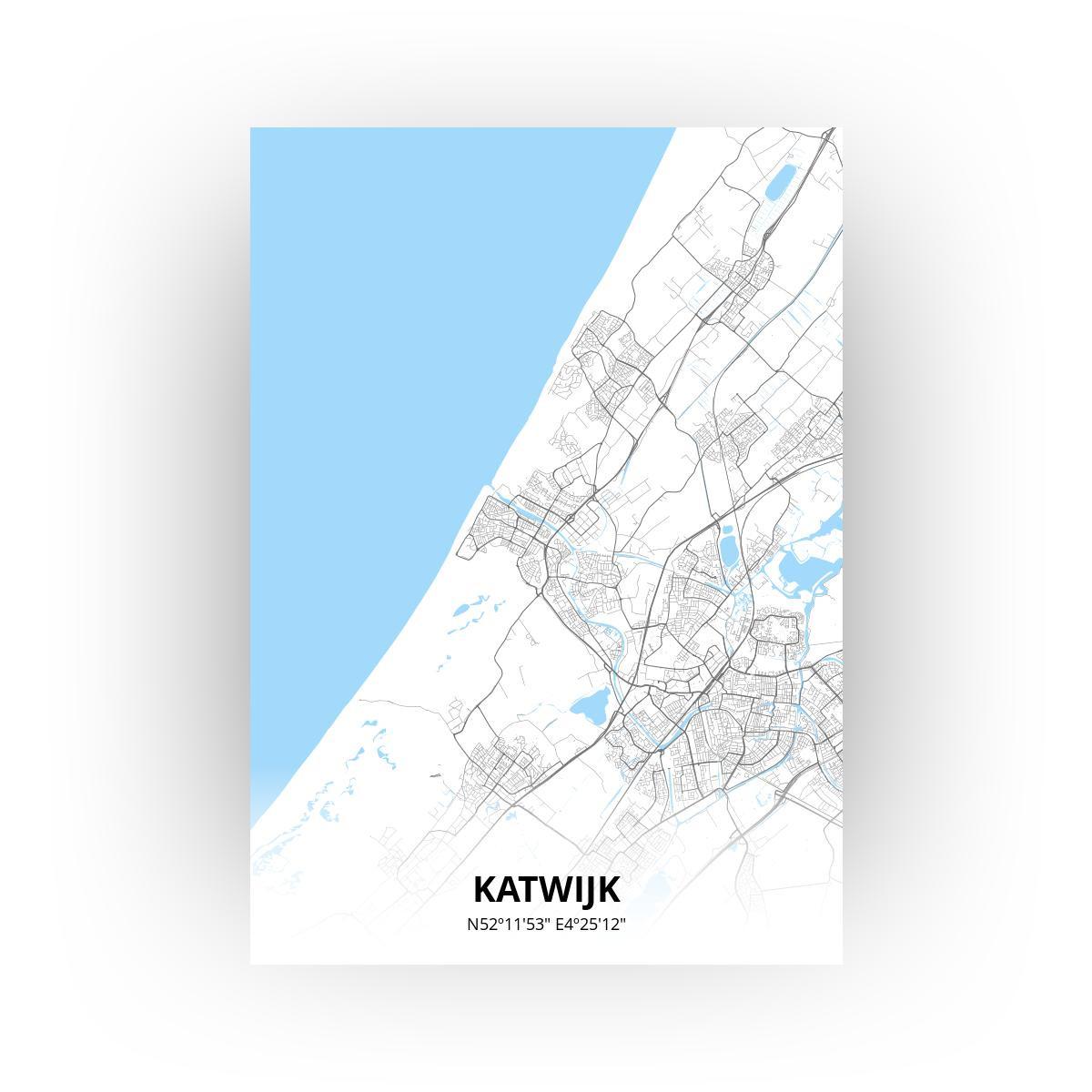 Katwijk print - Standaard stijl