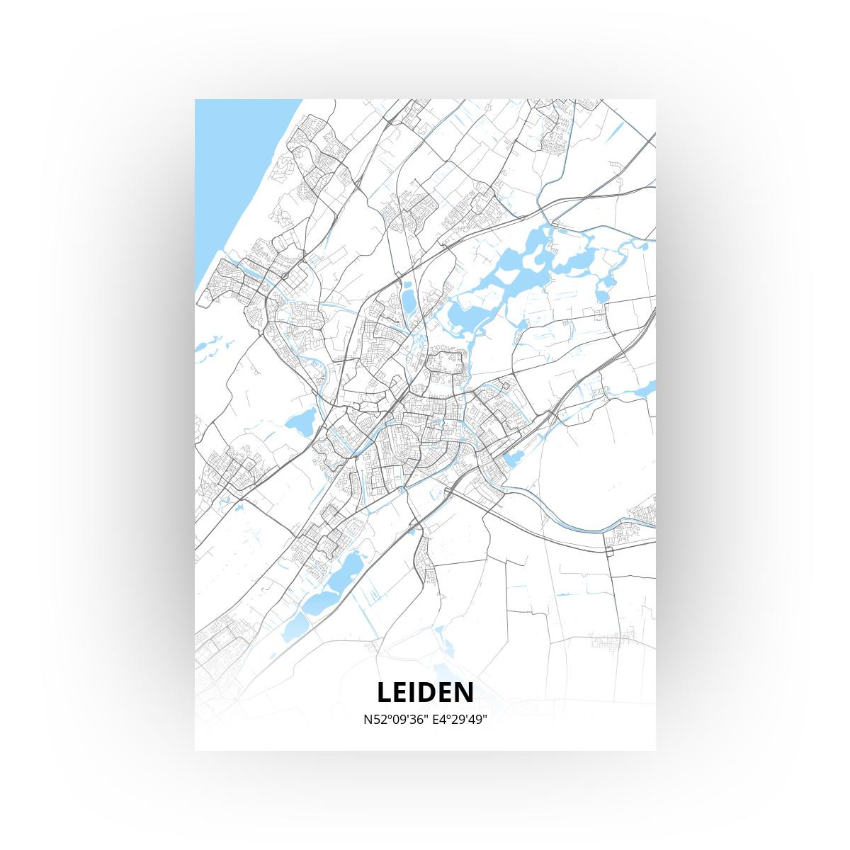 Leiden print - Standaard stijl
