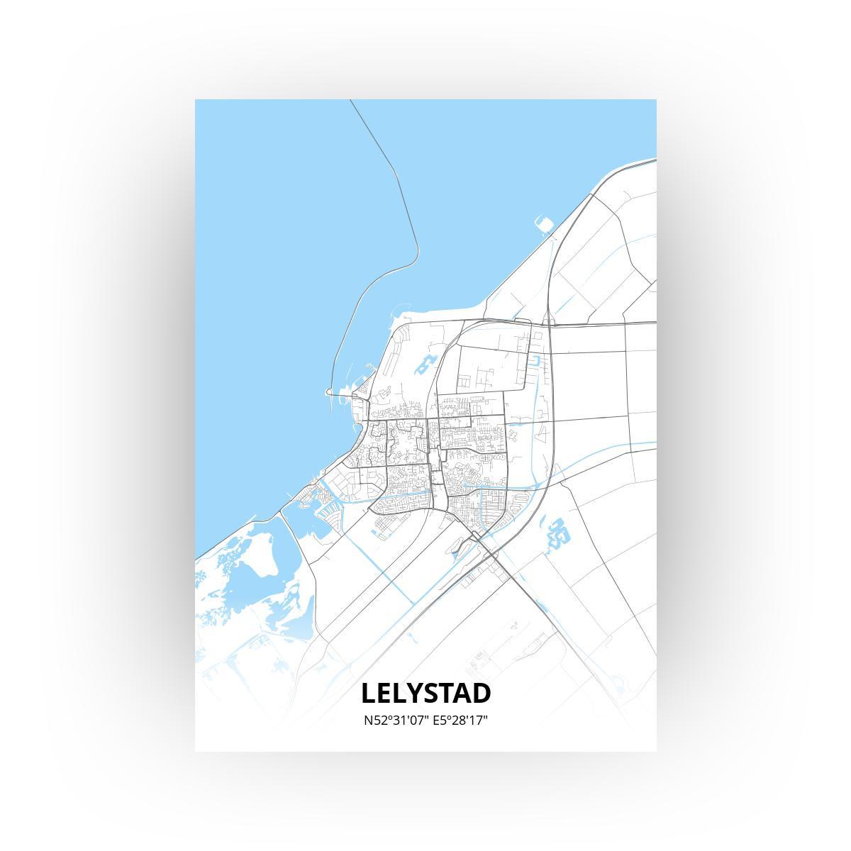 Lelystad print - Standaard stijl