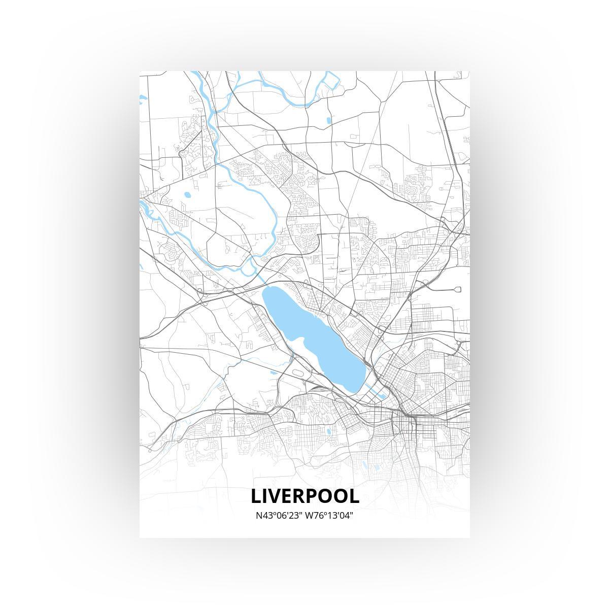 Liverpool print - Standaard stijl