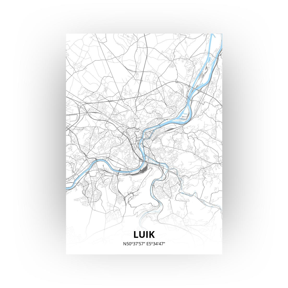 Luik print - Standaard stijl