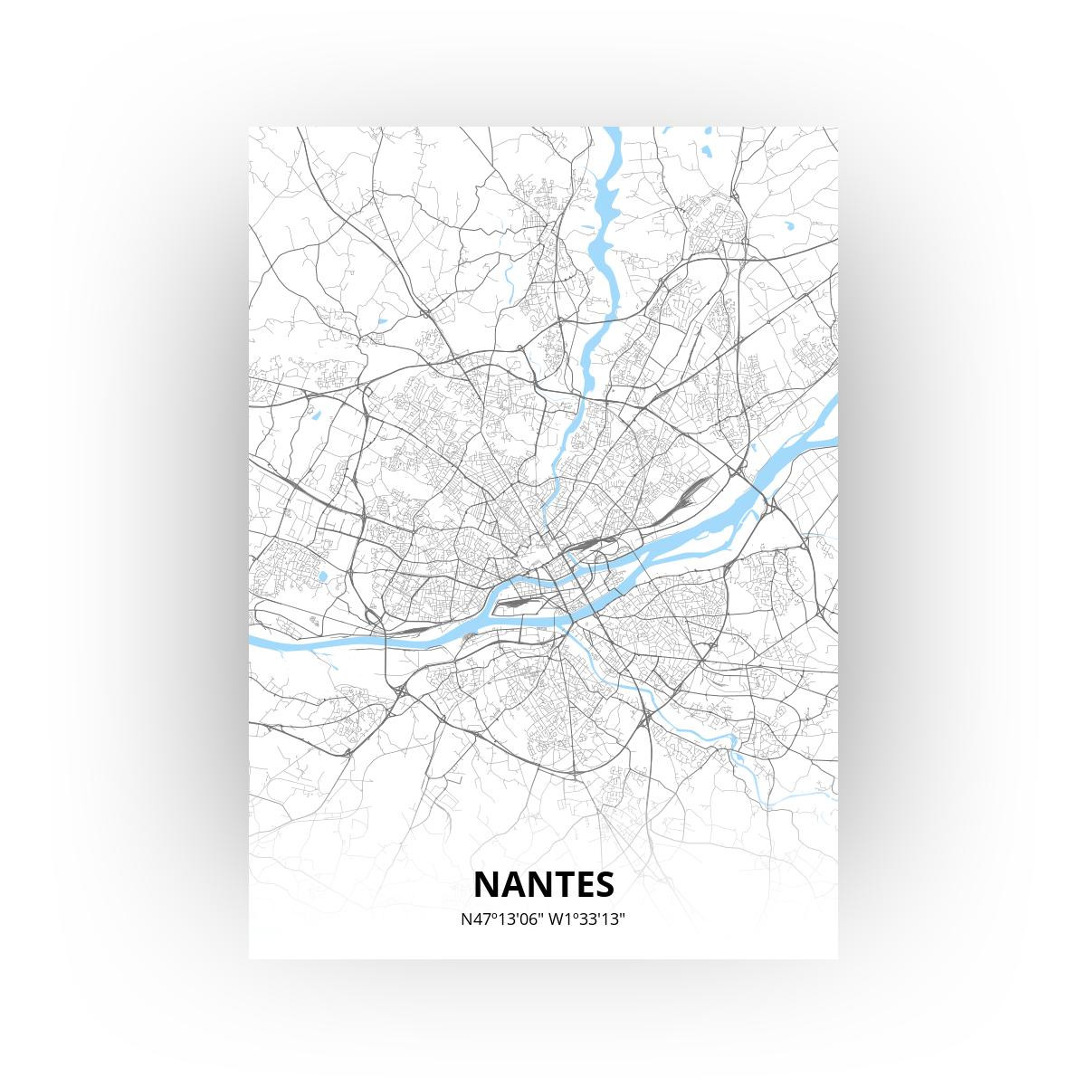 Nantes print - Standaard stijl