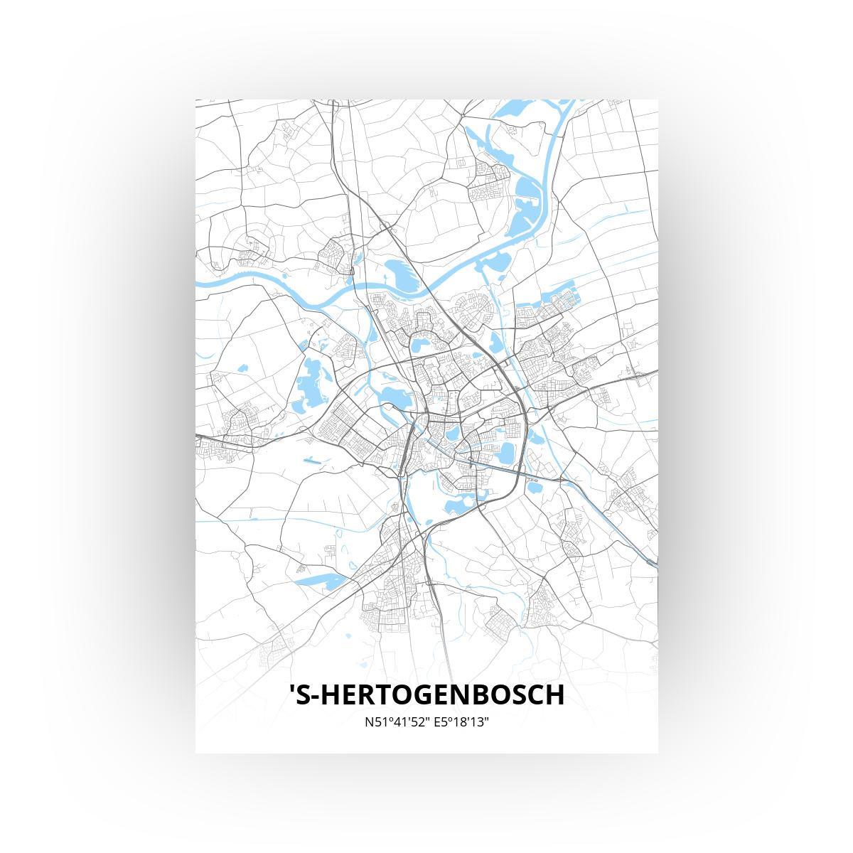 's-Hertogenbosch print - Standaard stijl