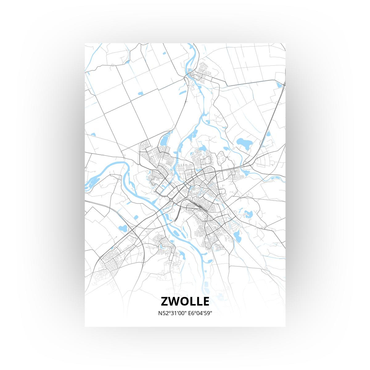 Zwolle print - Standaard stijl