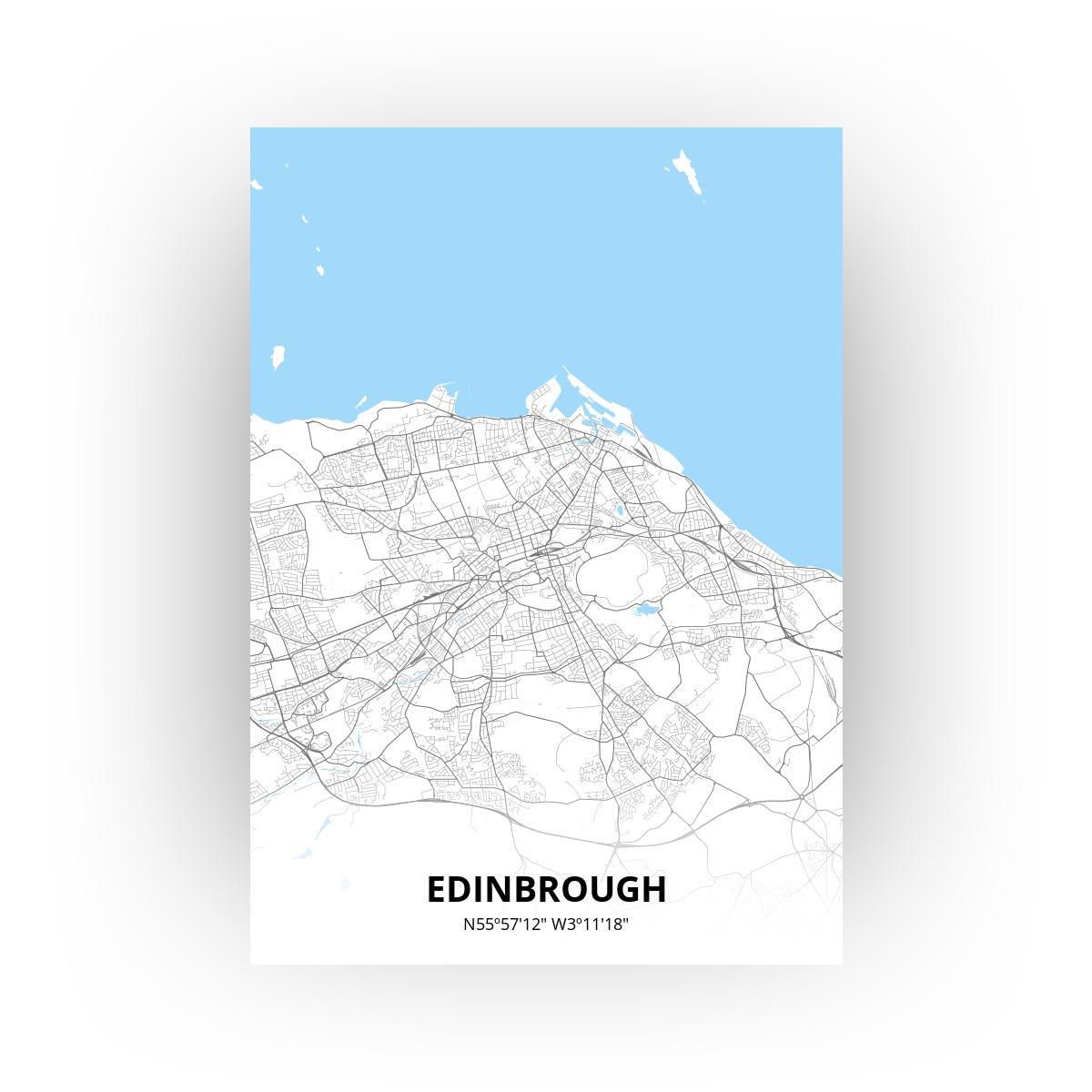 Edinbrough poster - Zelf aan te passen!