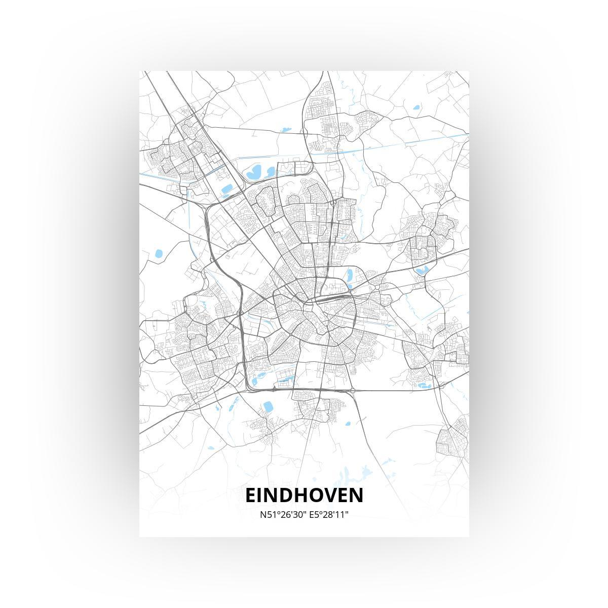 Eindhoven poster - Zelf aan te passen!