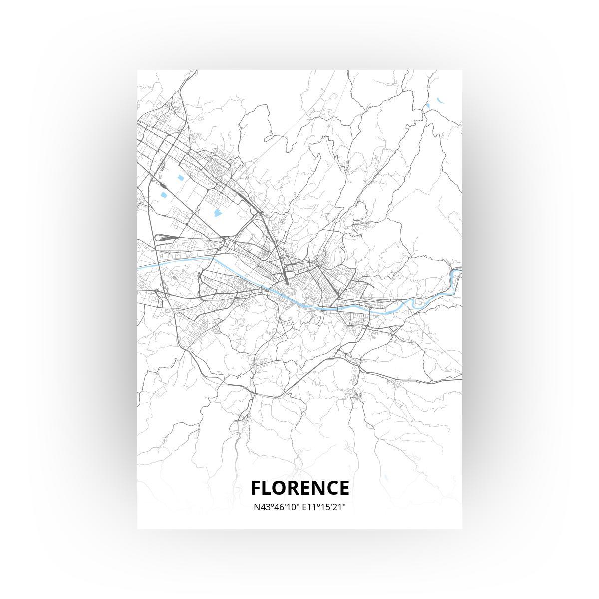 Florence poster - Zelf aan te passen!
