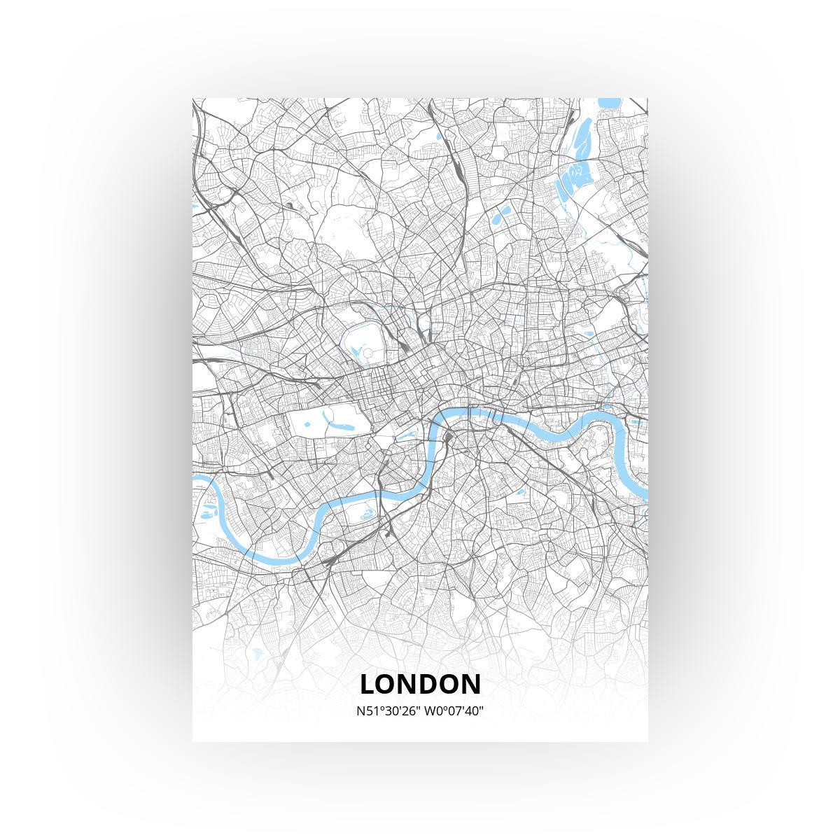 London poster - Zelf aan te passen!