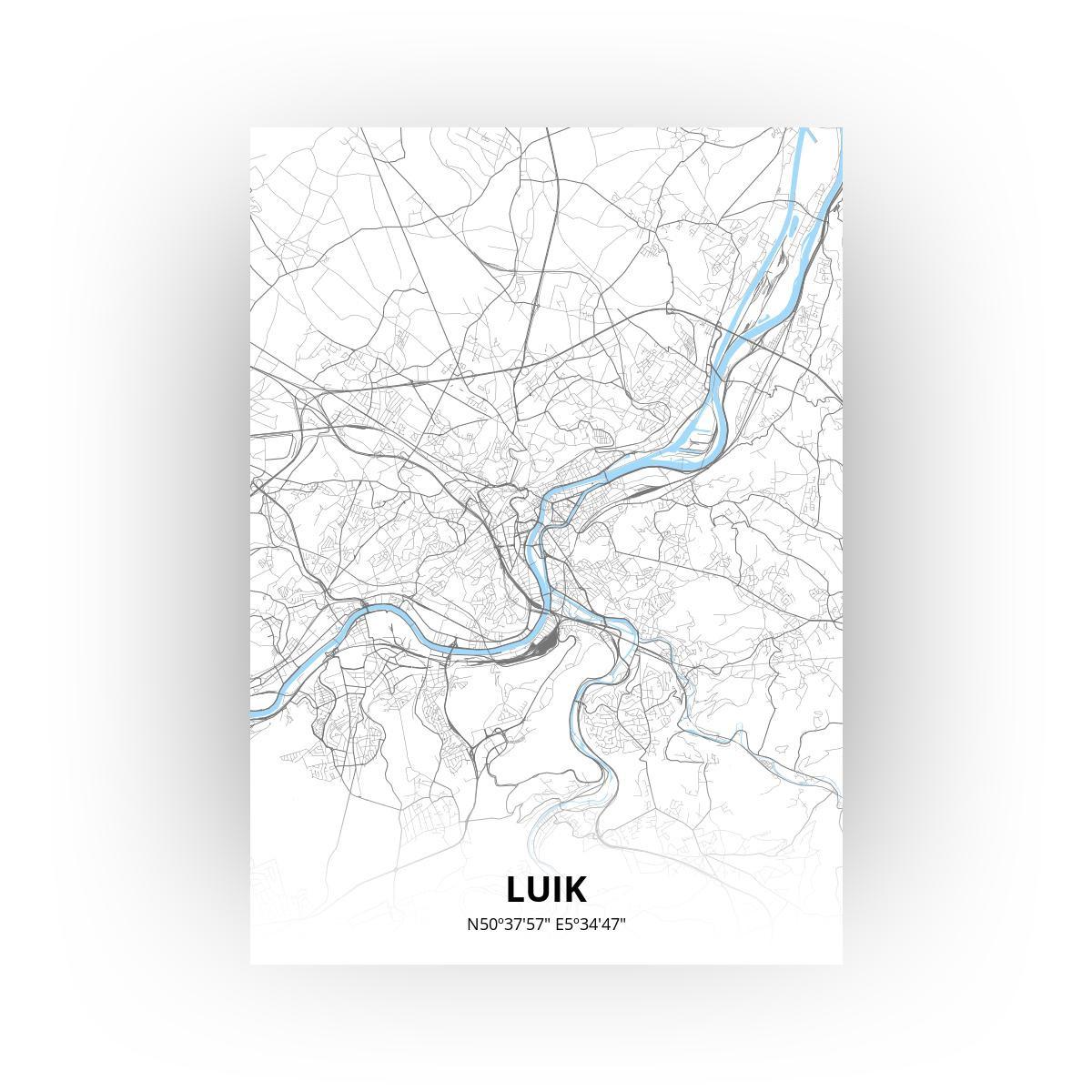 Luik poster - Zelf aan te passen!