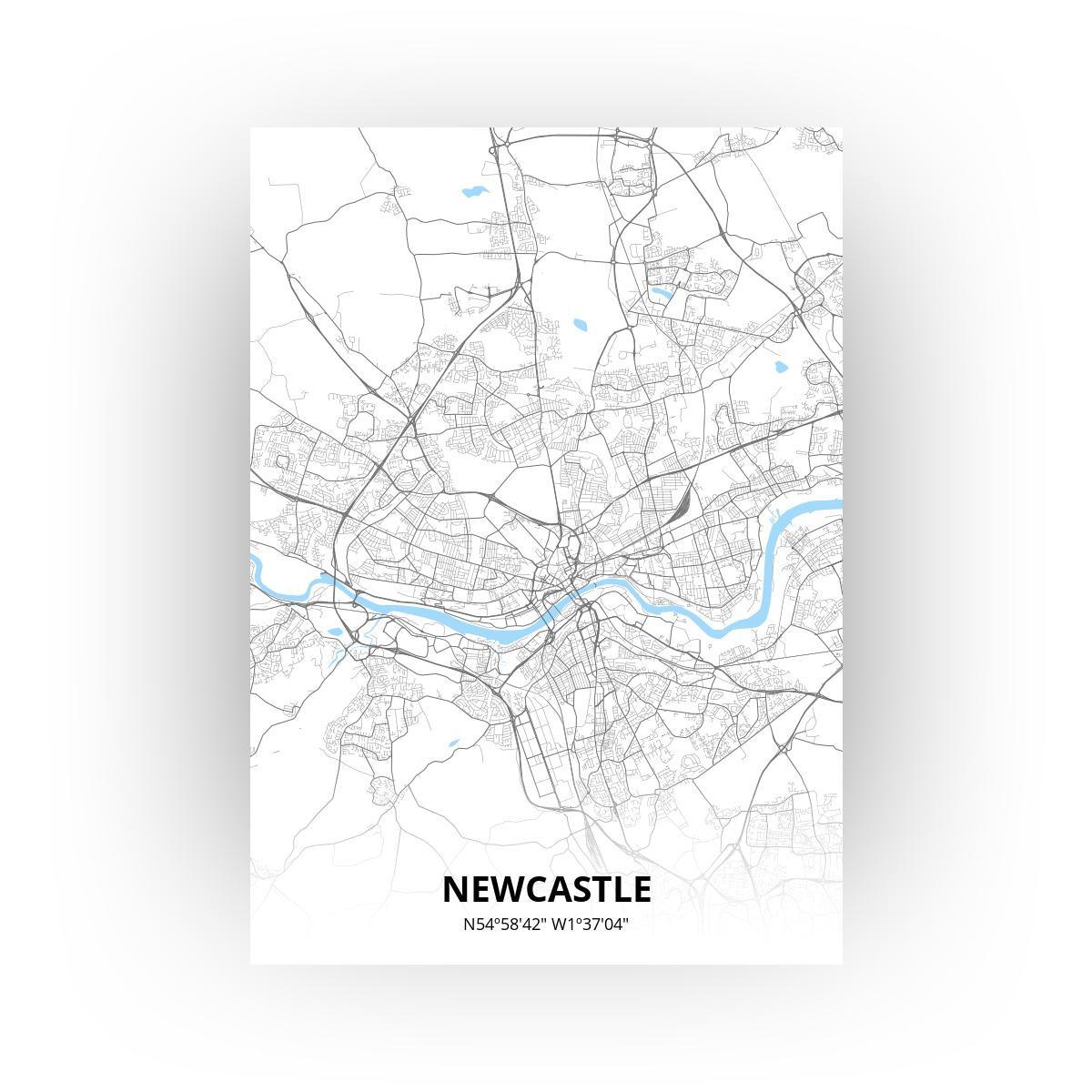 Newcastle poster - Zelf aan te passen!