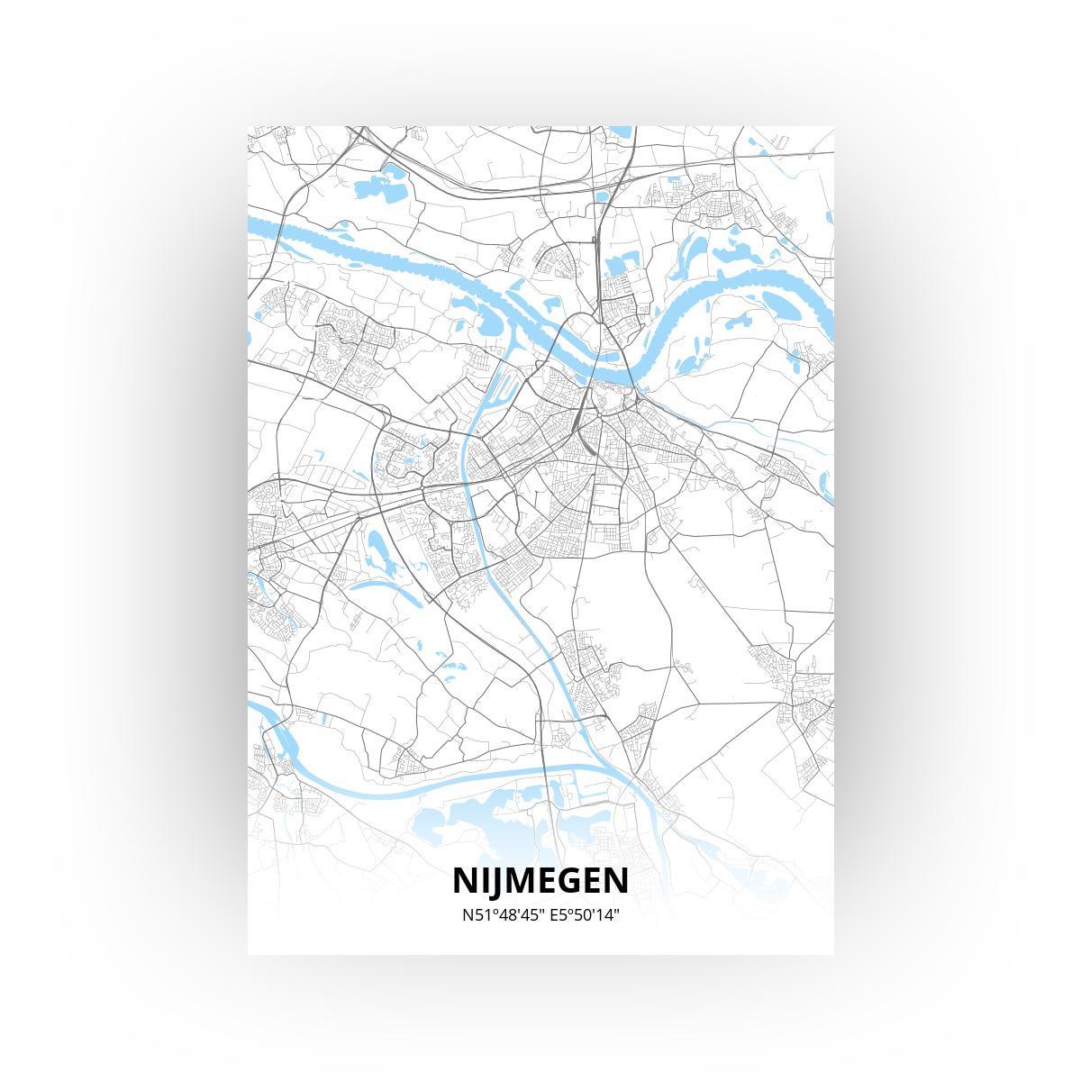 Nijmegen poster - Zelf aan te passen!