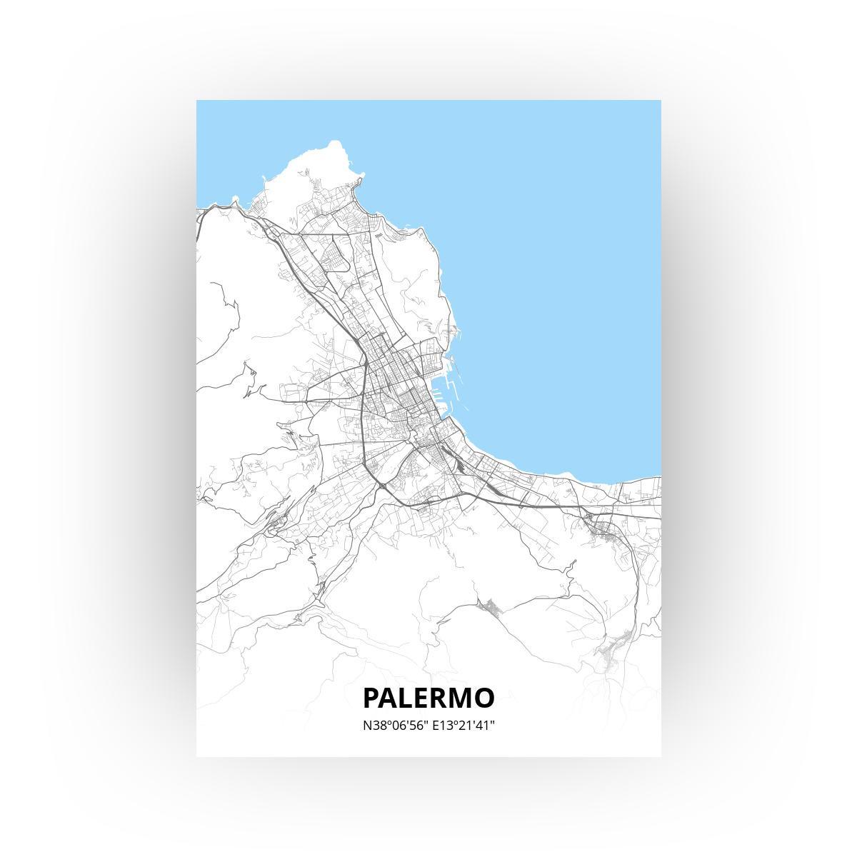 Palermo poster - Zelf aan te passen!
