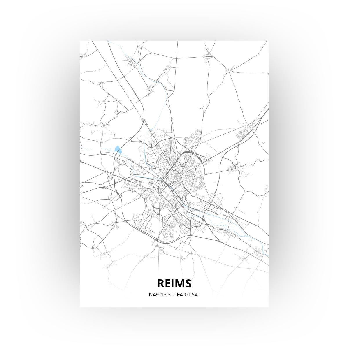 Reims poster - Zelf aan te passen!