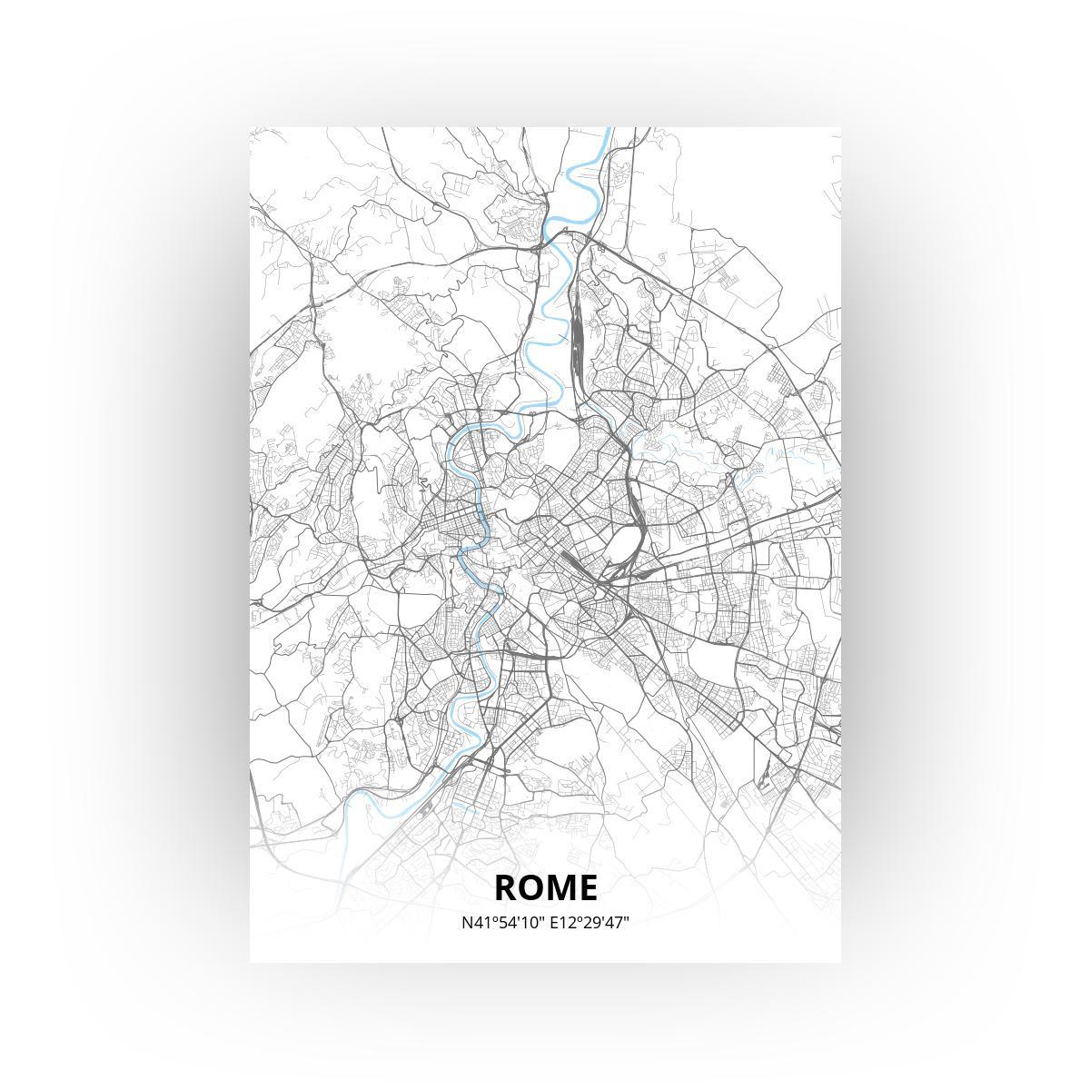 Rome poster - Zelf aan te passen!