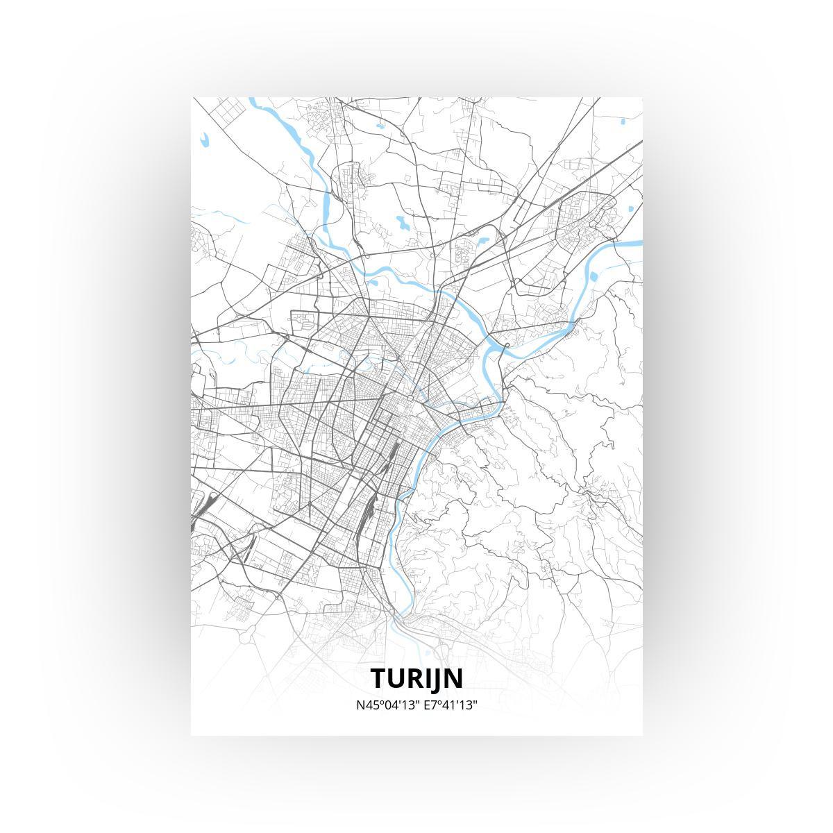 Turijn poster - Zelf aan te passen!