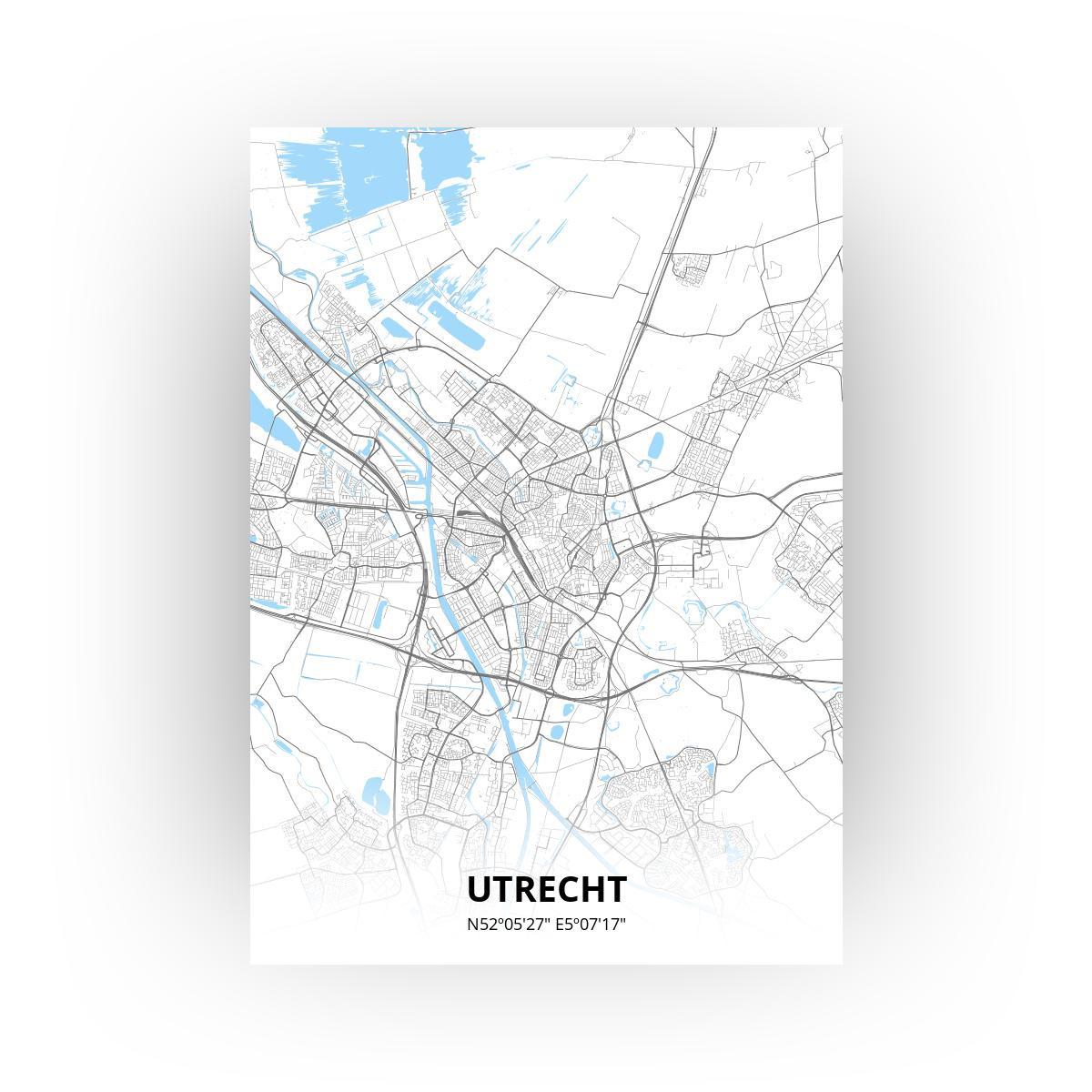 Utrecht poster - Zelf aan te passen!
