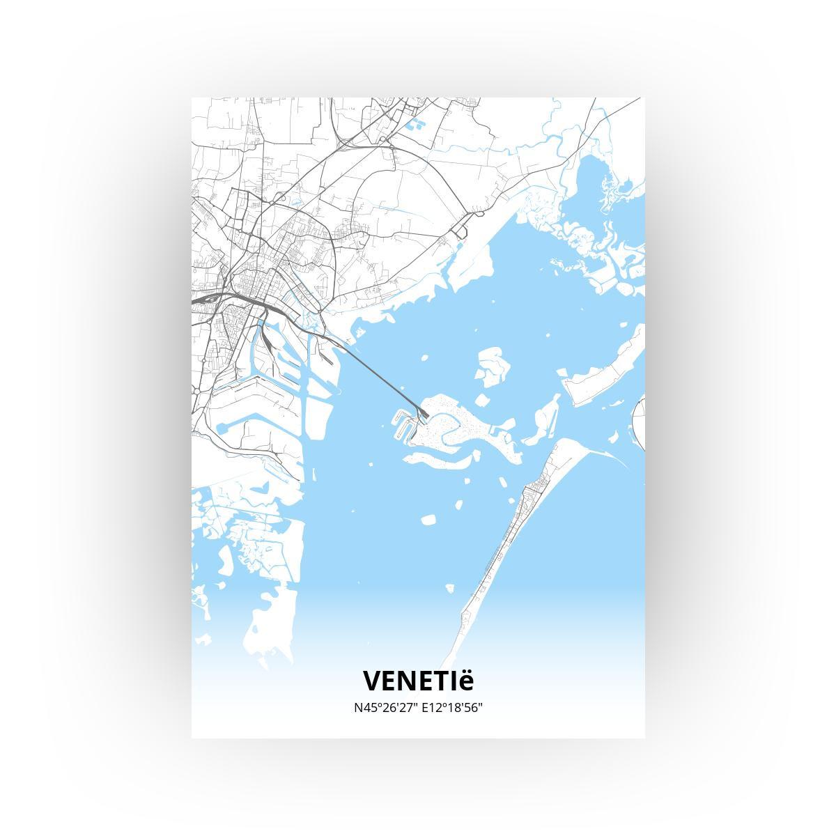 Venetië poster - Zelf aan te passen!