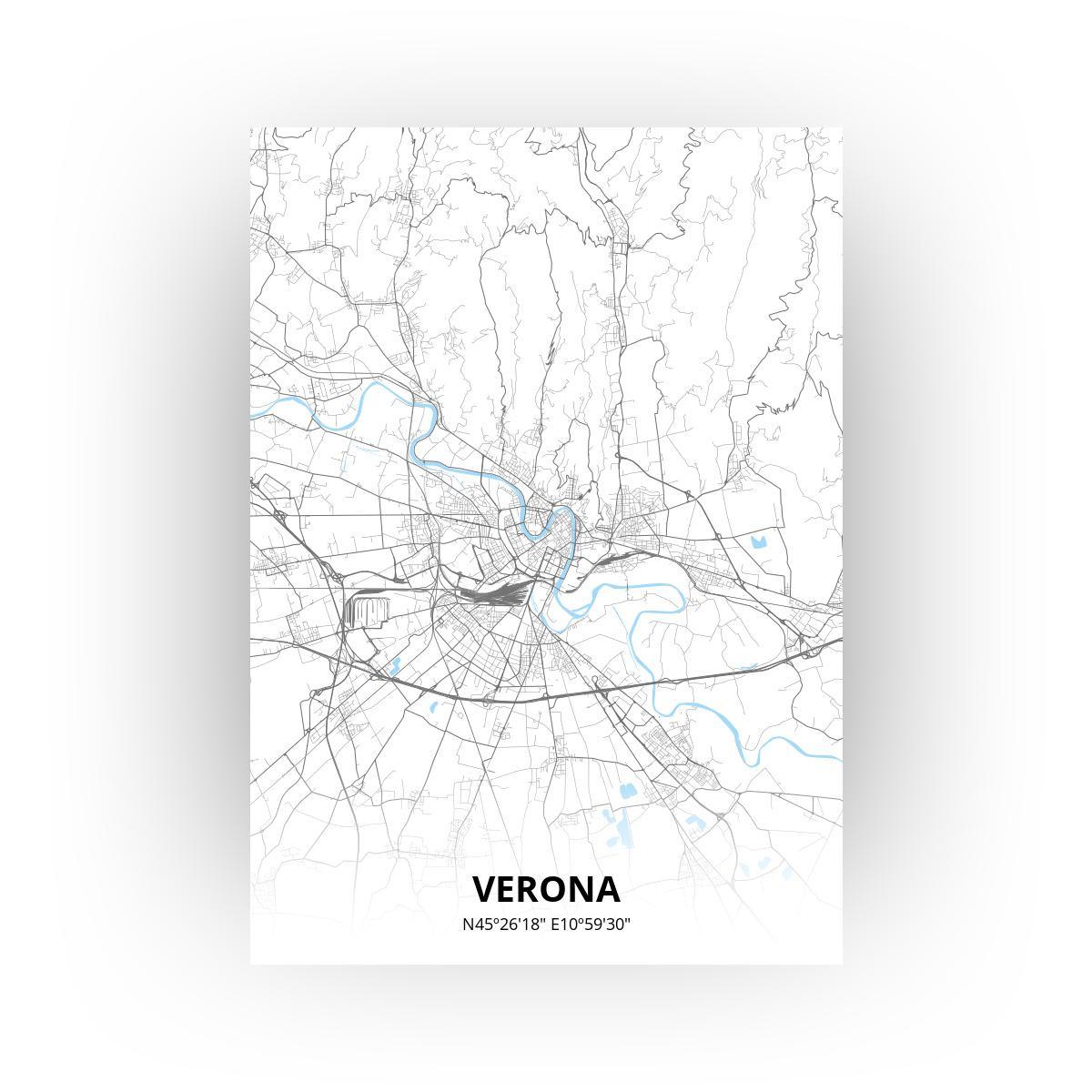 Verona poster - Zelf aan te passen!