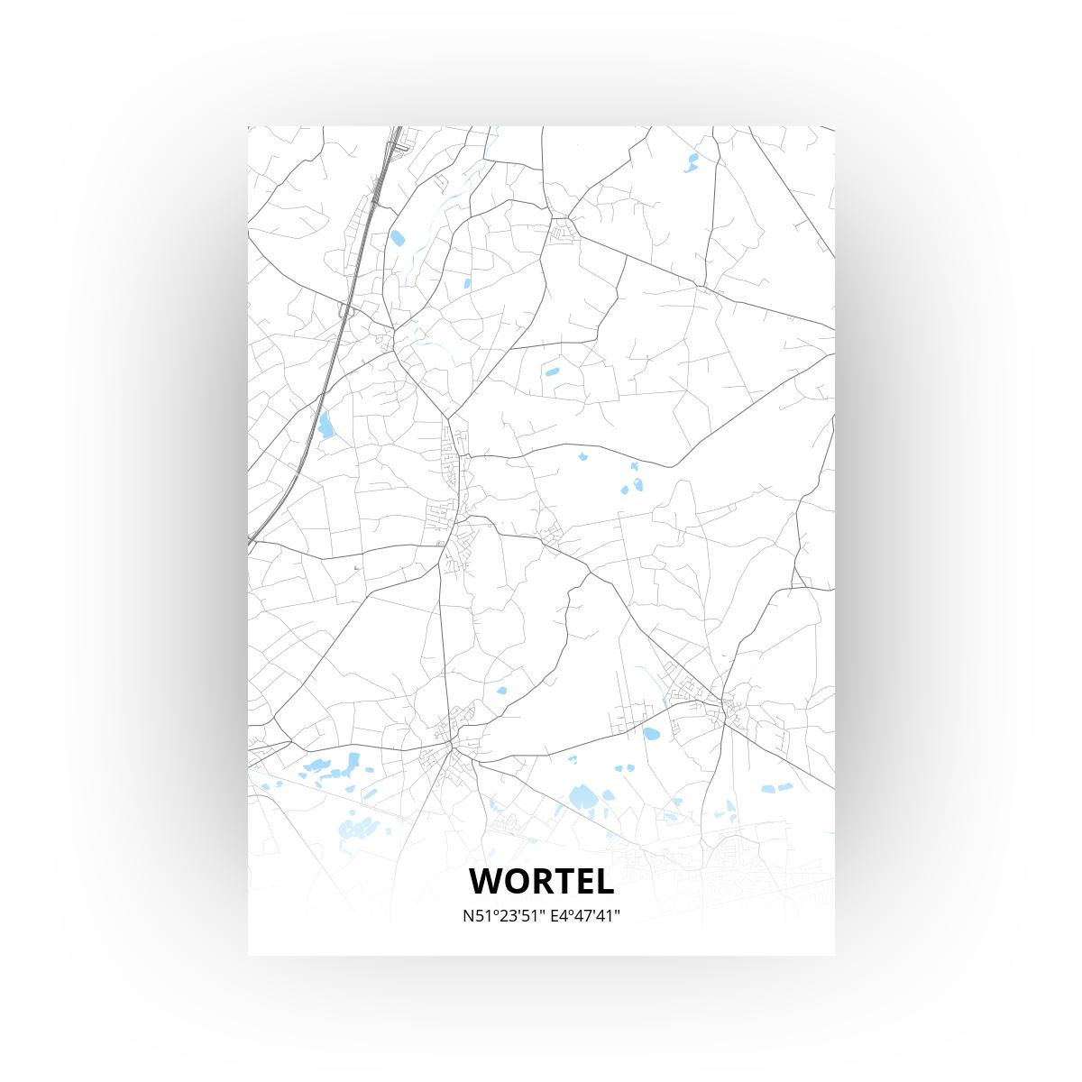 Wortel poster - Zelf aan te passen!