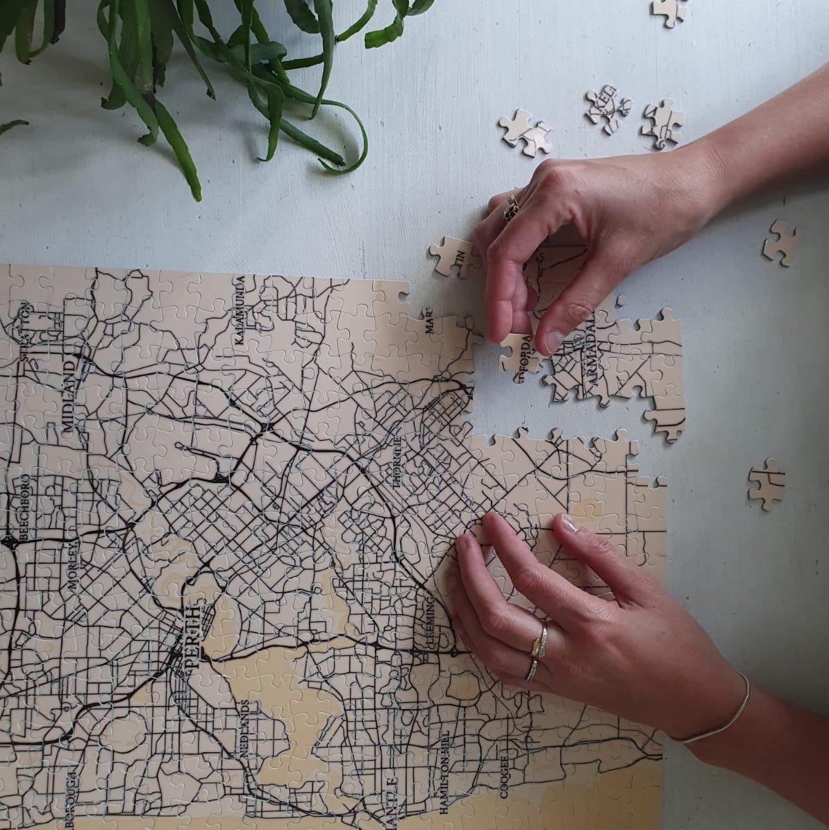 Een puzzel van jouw stad!
