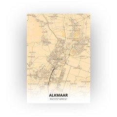 Alkmaar print - Antiek stijl