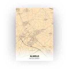 Almelo print - Antiek stijl