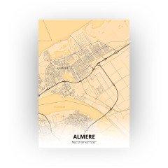 Almere print - Antiek stijl
