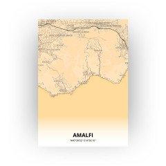 Amalfi print - Antiek stijl