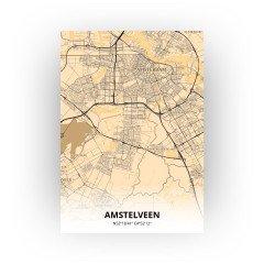 Amstelveen print - Antiek stijl