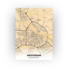 Amsterdam print - Antiek stijl