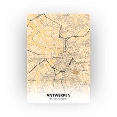Antwerpen print - Antiek stijl
