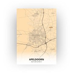 Apeldoorn print - Antiek stijl