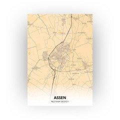Assen print - Antiek stijl