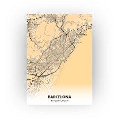 Barcelona print - Antiek stijl